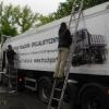 Oklejenie naczepy wywrotki dla track Port z Dąbrowy-opolskie
