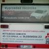 Oklejenie tylnej szyby autobusa  dla Dealera Mitsubishi - Opole