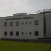Litery przestrzenne na budynku CARGO International w Opolu - Advert Studio