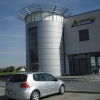 oznakowanie reklama budynku firmy Cargo Opole- Advert Studio