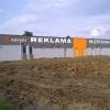 Oznakowanie budynku literami z dibondu -przy obwodnicy opola od strony Kepy