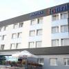 Oznakowanie literami swietlnymi  hotelu FESTIVAL