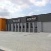 Oznakowanie budynku agencji reklamowe ADVERT STUDIO w Krzanowicach przy obwodnicy Opola