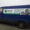 oklejenie samochodu dostawczego dla firmy RECAR