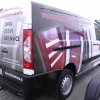 Oklejenie samochodu fiat scudo dla firmy produkującej okna - Opolskie