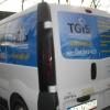 Aplikacja kolorowych naklejek na aucie dla TGIS wentylacje - opoklskie