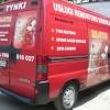 Oklejenie auta Citroen jumper dla firmy tynkarskiej opolskie