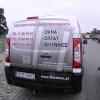 Grafika samochodowa Fiat Scudo dla firmy FILA Okna - opole