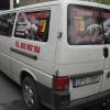 Oklejenie auta dla WAMA Zakład elektryczny Opole