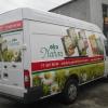 Oklejenie floty aut dla EKO NATURA dystrybutor produktów agro