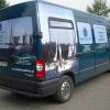 Oklejenie auta grafiką pełnokolorową -Błękitny Piotruś- szkolenia żeglarstwo opolskie
