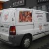 Oklejenie auta dla Klienta z Niemiec - sklep mięsny Opole