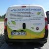 Oklejenie fiata doblo grafika pełnokolorową Opole