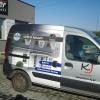 Oklejenie auta grafika pełnokolorową dla KJ dystrybutora produktów marki CAPAROL - opolskie