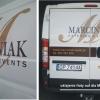 Oklejenie floty aut dla firmy cateringowej MARCINIAK- Advert Studio