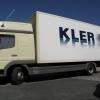 oklejenie paki samochodu dostawczego dla KLER - Advert Studio