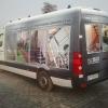 oklejenie 3/4 VW Craftera dla agencji reklamowej Art Engine - design studio  www.artengine.pl