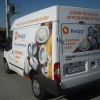 Oklejenie auta ford transit dla Kwazar lightening Opole