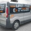 Oklejenie Opla Vivaro dla Firmy transportowe Liput Tour - Advert Reklama Opole