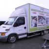 Oklejenie paki auta dostawczego dla Lotko - Advert Studio
