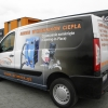 Oklejenie Peugeot Partner dla ARIMEX ze Strzelec Opolskich - Advert Studio