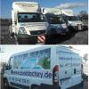 Oklejenie floty aut dostawczych dla producenta basenów PoolsFactory - Advert Studio Opole