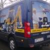 Aplikacja kolorowych grafik na aucie dla SEGET  Opole