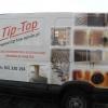 Aplikacja foli pełnokolorowej na samochodzie dla TIP TOP prace wykończeniowe mieszkań