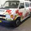 Oklejenie floty aut dla holenderskiego producenta kwiatów Ruigrok