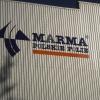 Oznakowanie hali produkcyjnej literami z dibondu Marma