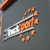 Litery przestrzenne na hali dla truck port- Dąbrowa Opole