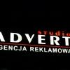 efekt swietlny kasetonu z dibondu LED Advert Opole