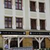 Kasetony świetlne LED z kompozytu aluminiowego (dibond czarny) - Hotel Arte Brzeg