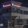 Efekt świetlny liter aluminiowych o iluminacji LED Stalmach Opole -Advert-studio