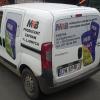 oklejenie auta dla MTB firmy produkującej zaprawy klejowe Opolskie