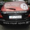 Reklama na samochód - opole - Royal School Opole