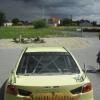 oklejenie samochodu rajdowego Mitsubishi Lancer evo.10 Opole Advert Studio