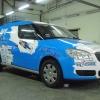 Całościowe Oklejenie samochodu dla firmy Knauf- Opole