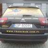 Grafika samochodowa- oklejenie kolejnego auta z floty TRANSREM - Advert Studio - Opole