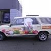 oklejenie auta Fiata-Dobre Jadło-Advert Studio