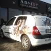 OKLEJENIE clio dla Doggy Dream Advert Studio Opole