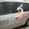 oklejenie kolejnego auta dla firmy przewozowej SOSCY -Advert Studio