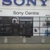 Oklejenie witryny Sony Agent 007 Advert Studio