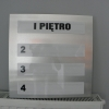 tablica przestrzenna informacyjna z dibondu - Advert Studio