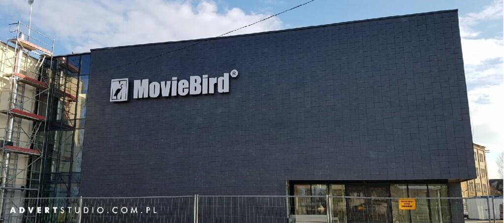 oznakowanie firmy movi bird-advert