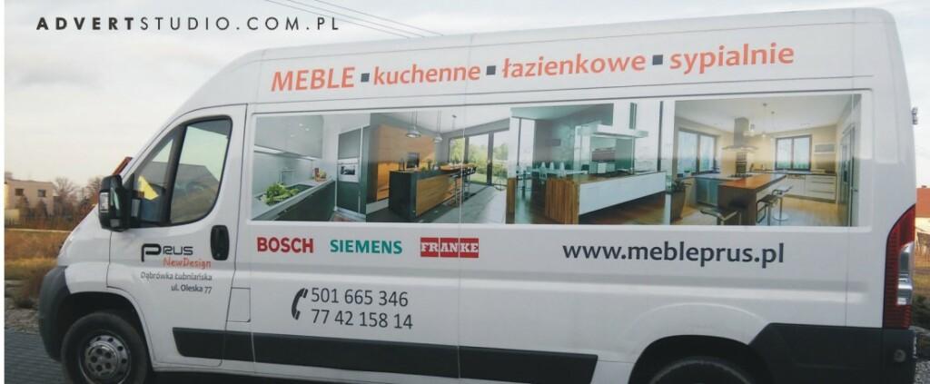 Advert Reklama Opole- oklejanie aut - Meble na wymiar