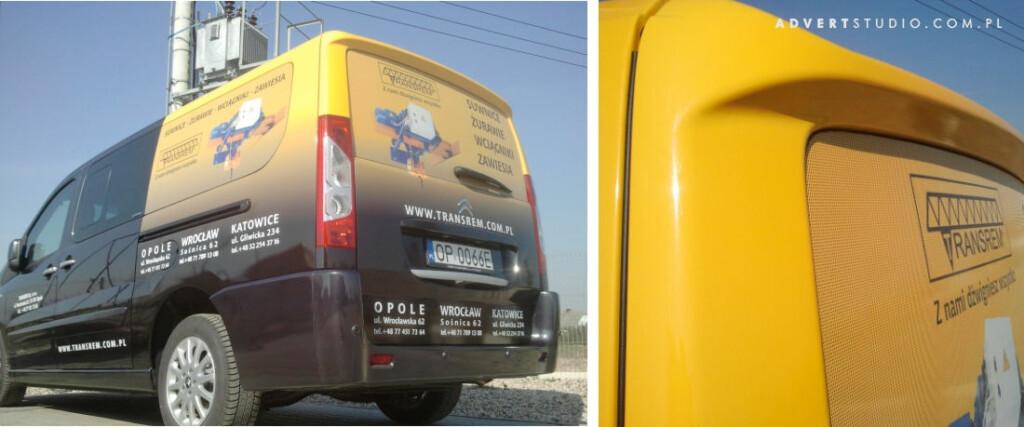 Grafika na pojazdach -Advert Reklama Opole- Transrem