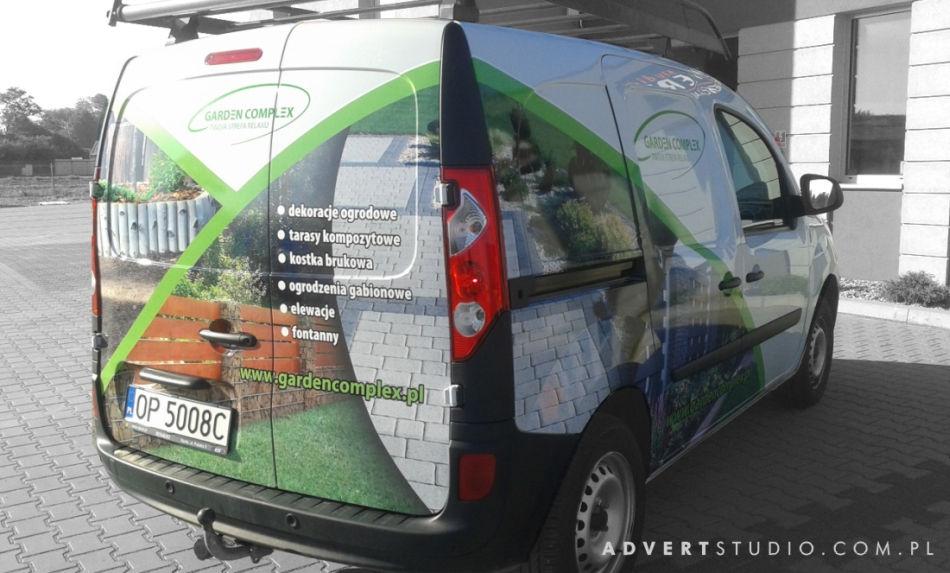 Grafika na samochodzie - Garden Compleks- Advert Reklama OPole