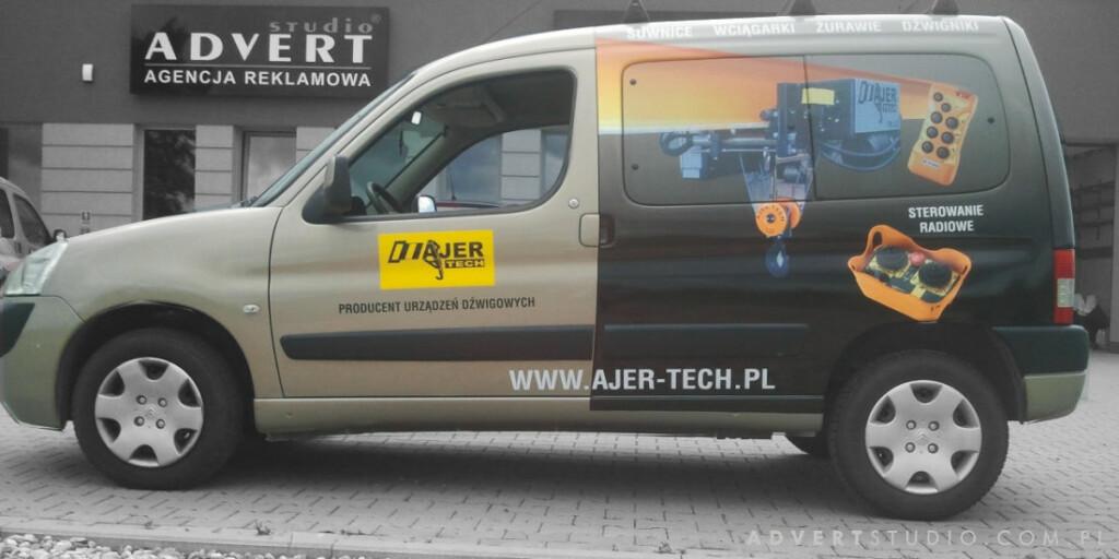 Oklejanie flot aut- AJERTech- Advert Reklama