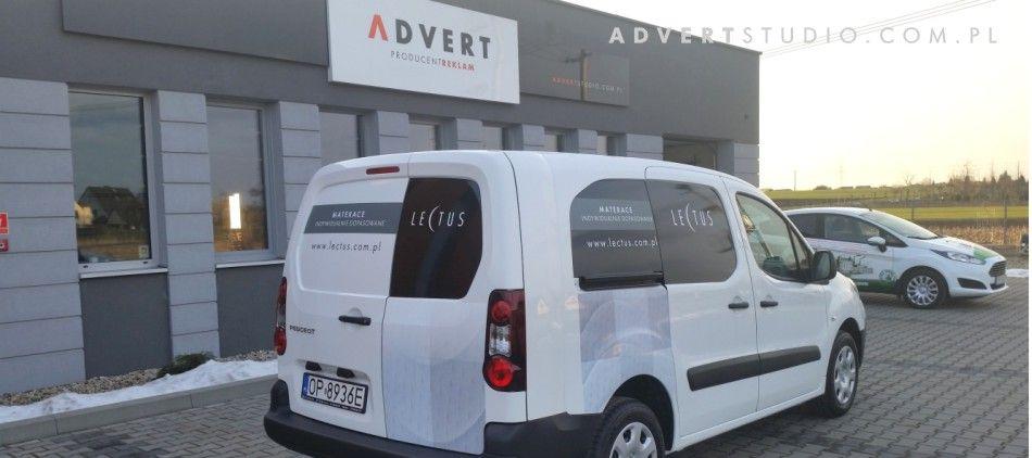 oklejanei samochodow-advert reklama